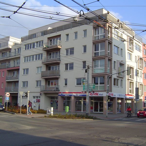Bytový dům Pichlova – 1.etapa, Pardubice